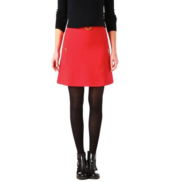 Promod - Absolutnie czarny - Intensywnie czerwony (FOTO)