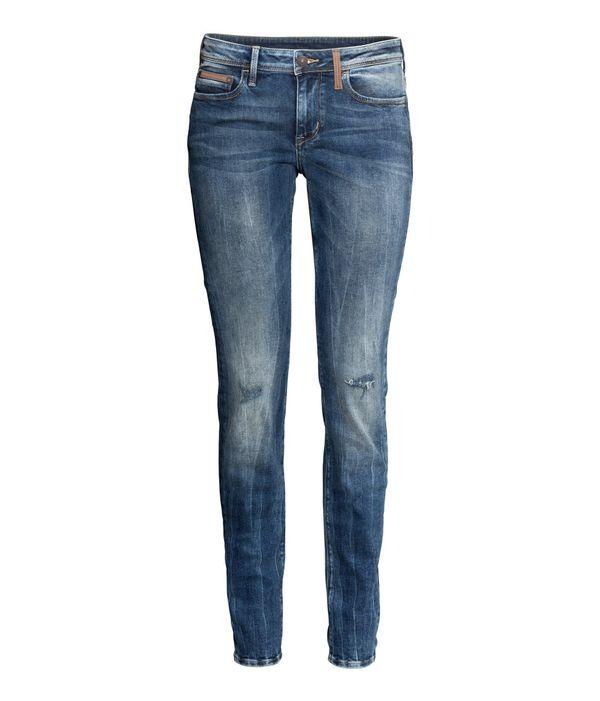 Przegląd jesiennych trendów - podarte jeansy