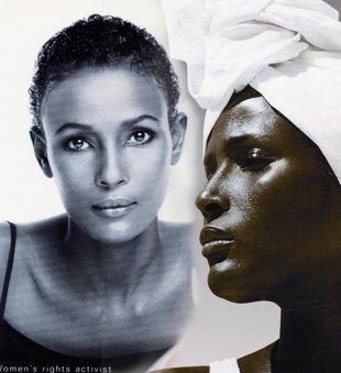 Waris Dirie - czarnoskóra piękność