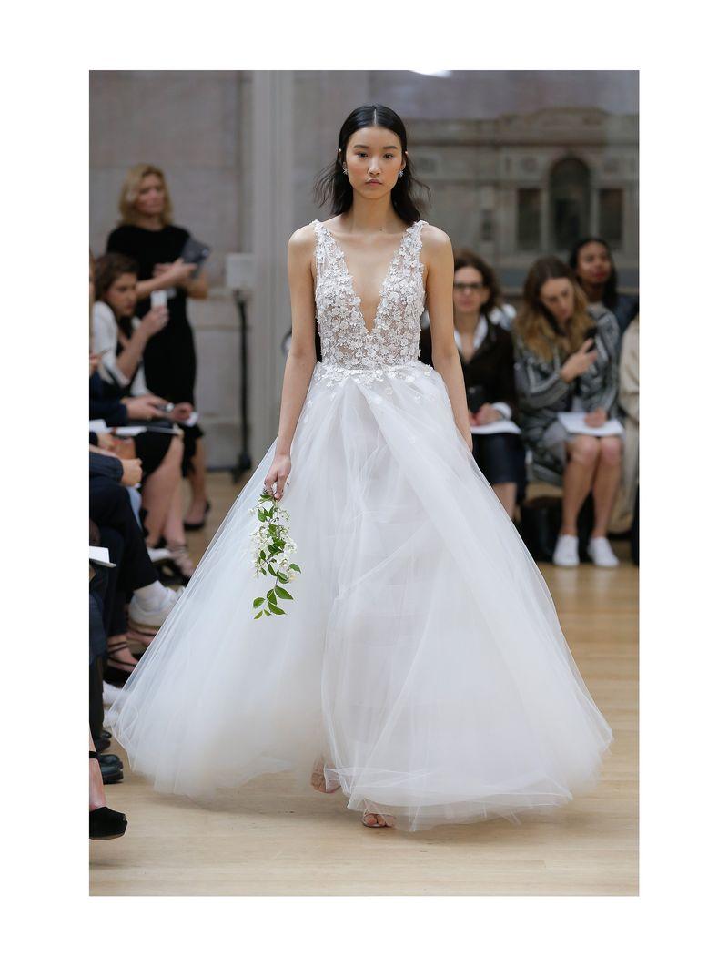 Oscar de la Renta – suknie ślubne na wiosnę 2018