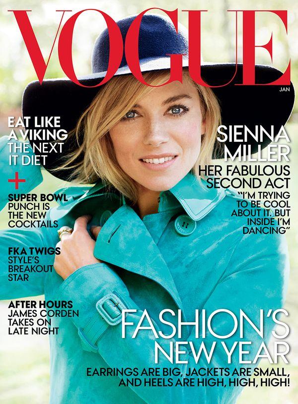 Amerykański Vogue – okładki z 2015 roku