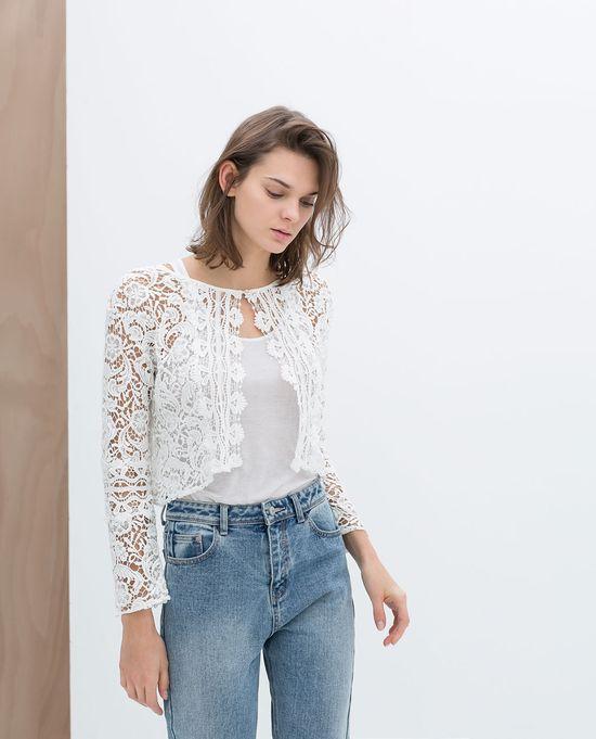 Pastele w nowościach wiosennych Zara TRF