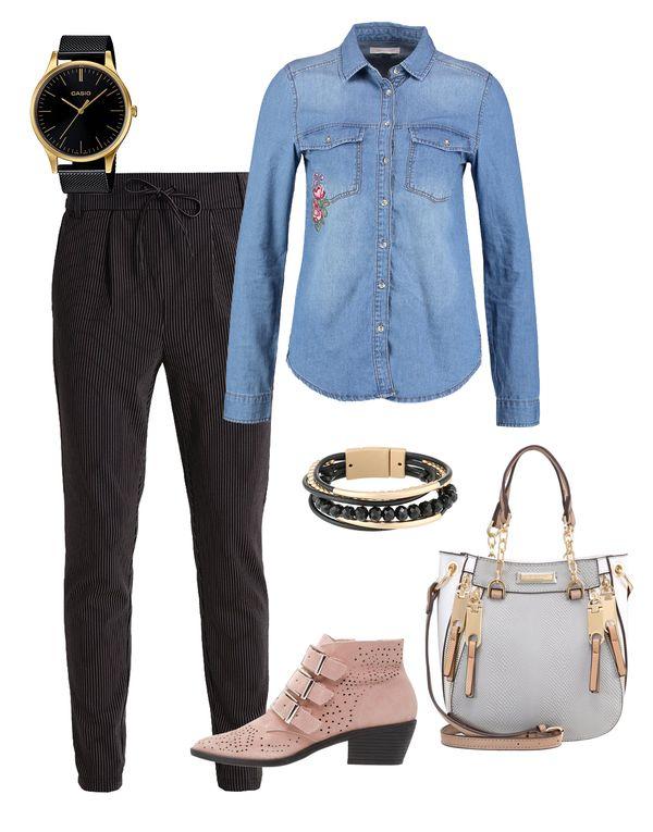 Jeansowa koszula w roli głównej - zobaczcie kilka gotowych stylizacji! (FOTO)