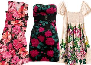 Zestaw dnia: Kwiecista sukienka