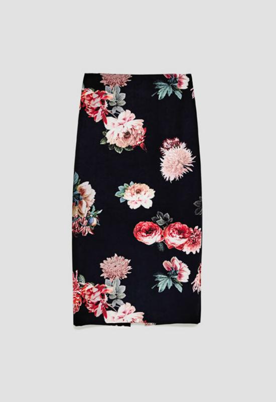 Najmodniejsze spódnice midi na jesień 2017 – przegląd znanych sieciówek