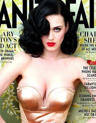 Katy Perry na okładce Vanity Fair