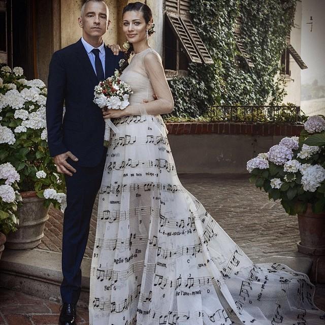 Najpiękniejsze suknie ślubne gwiazd
