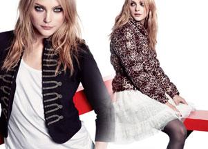 Jessica Stam reklamuje H&M