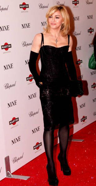Madonna szoruje podłogę?