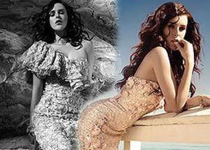 Rumer Willis dla Badgley Mischka