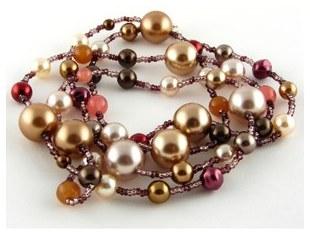 Biżuteria w kolorze czekolady