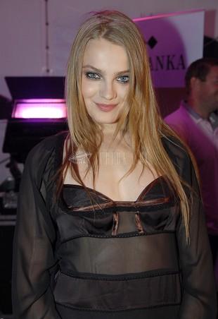 Ania Jagodzińska na żywo w reklamie Reserved