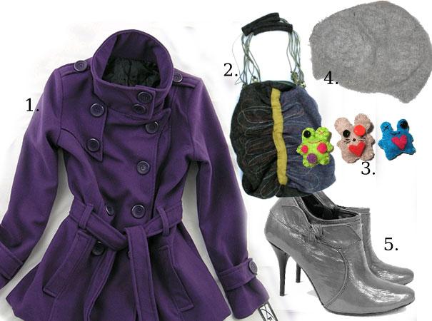 Co do fioletowego płaszcza?