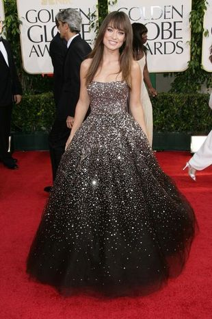 Olivia Wilde w sukni od Marchesy (FOTO)