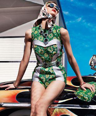 Plejada modelek w kampanii Prady (FOTO)