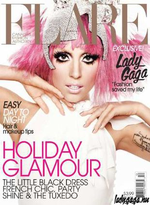 Lady Gaga w magazynie Flare