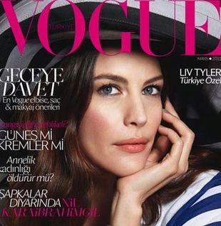 Liv Tyler na okładce Vogue Turkey