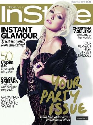 Christina Aguilera na okładce InStyle