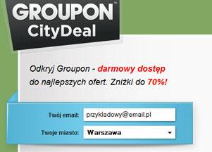 Grupowe zakupy - oszczędzasz do 70% procent