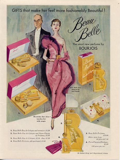 Stare reklamy kosmetyków Bourjois