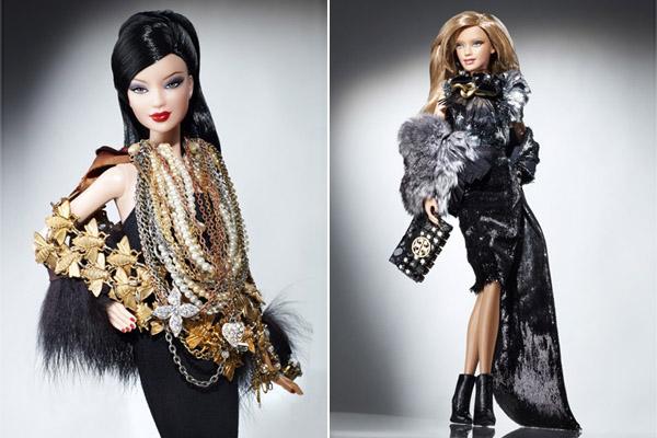 Barbie w ubraniach projektantów na licytacji