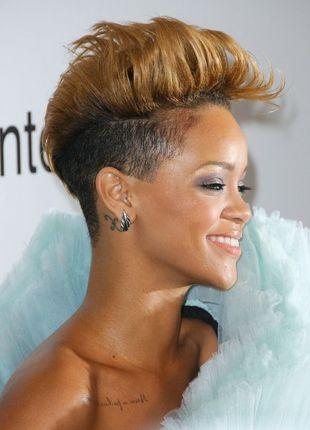 Rihanna stawia na asymetrię i pastele
