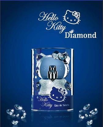 Kryształowe perfumy Hello Kitty