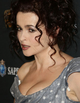 Helena Bonham-Carter w groszkach (FOTO)