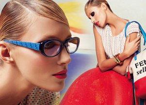 Anja Rubik w kampanii Fendi