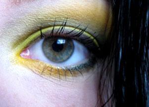 Wasze makijaże: Oczy w zieleni