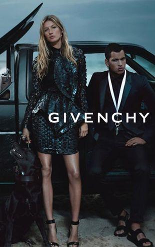 Kolejne zdjęcia z wiosennej kampanii Givenchy