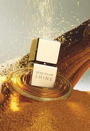 Heidi Klum i jej zapach - Shine