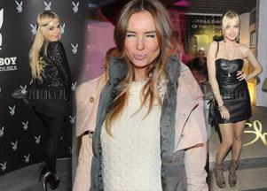 Celebrytki pokazują wdzięki na urodzinach Playboya (FOTO)