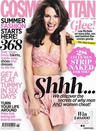 Lea Michele w Cosmopolitan