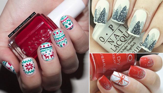 Paznokciowe inspiracje - manicure idealny na święta