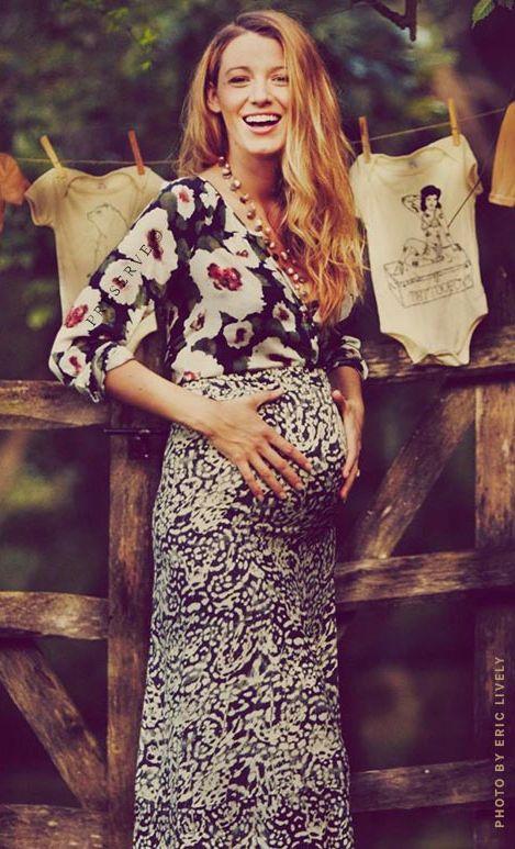 Ciążowy styl Blake Lively