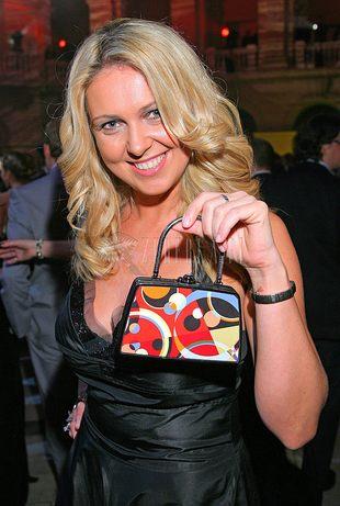 Ewa Wachowicz prezentuje torebkę (FOTO)