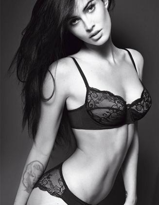 Megan Fox w kampanii Emporio Armani