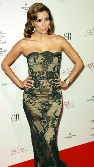 Eva Longoria Parker w sukni Georges'a Recha