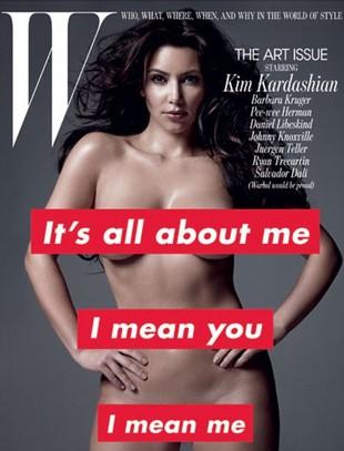 Kim Kardashian absolutnie naga