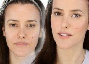 Makeup no makeup - tutorial
