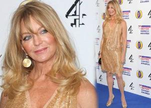 Goldie Hawn na złoto (FOTO)