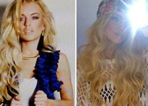 Lindsay Lohan pokazuje zapowiedź nowej sesji (FOTO)