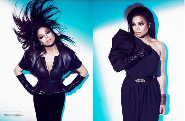 Janet Jackson w stylowej sesji dla Wonderland Magazine