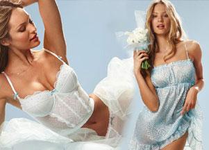 Candice Swanepoel w bieliźnie ślubnej