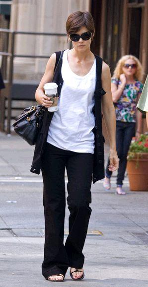 Katie Holmes w sukni D&G