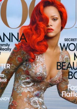 Za kulisami sesji zdjęciowej Rihanny dla Vogue