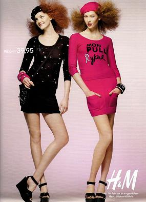 Kampania reklamowa Sonii Rykiel dla H&M