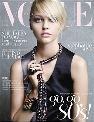 Sasha Pivovarova w Interview