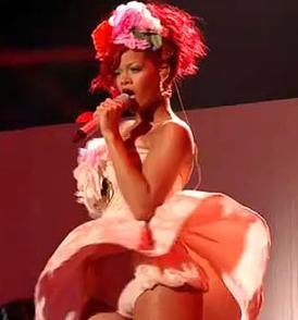 Rihanna w programie X-Factor
